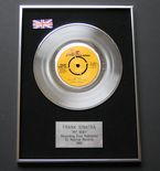 FRANK SINATRA - MY WAY PLATINUM Single Presentation DISC